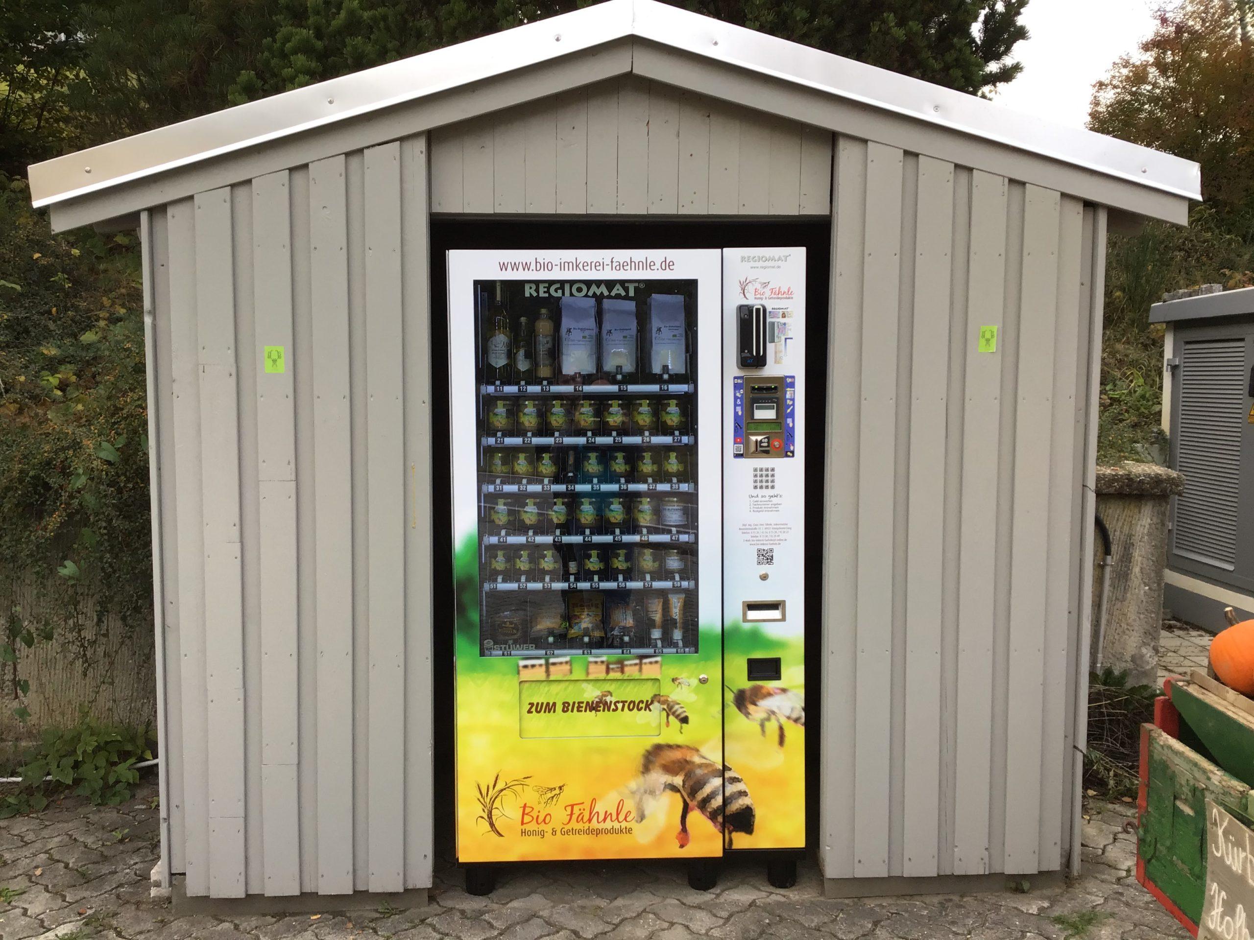 bioimkerei faehnle verkaufsautomat